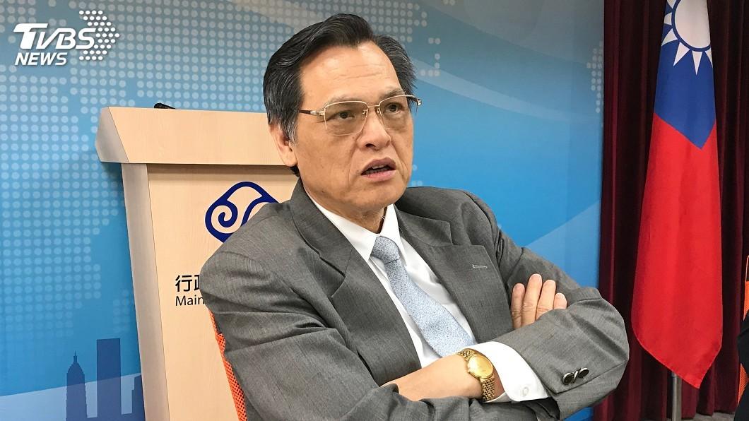 圖/中央社 陳明通在美演講對陸喊話 講稿醞釀3個月