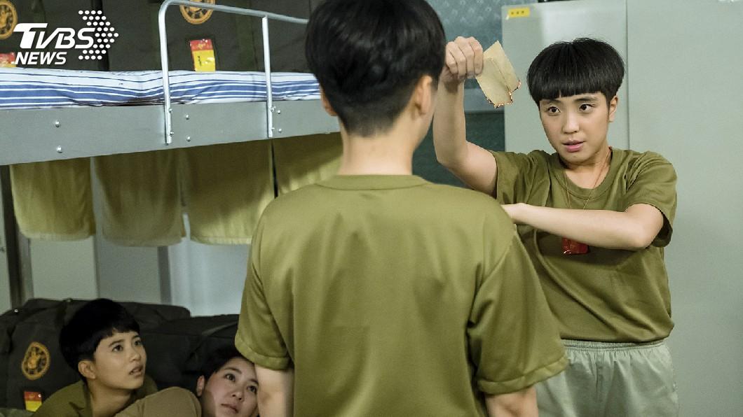 圖/TVBS 女兵有「通靈體質」 認了喜歡被他保護的感覺