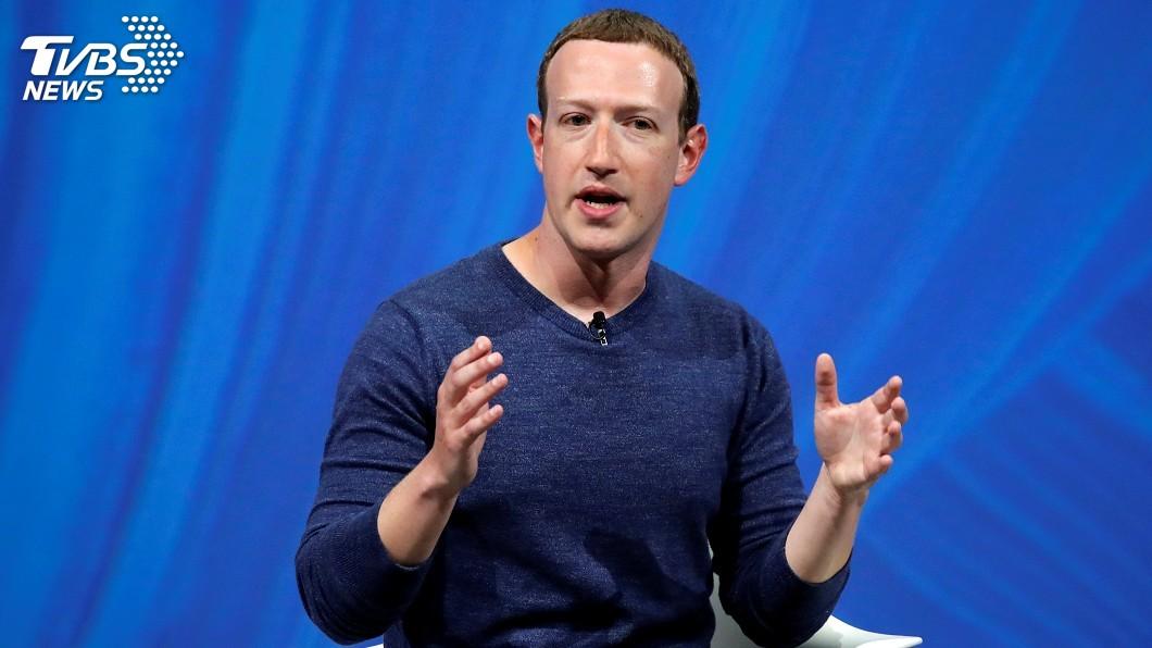 圖/達志影像路透社 臉書不移除否認大屠殺貼文 祖克柏談話掀波