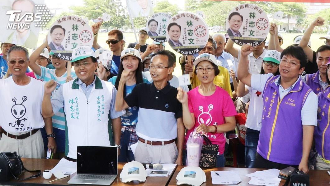 圖/中央社 里長參選台南市 陳永和盼打造「公民城市」