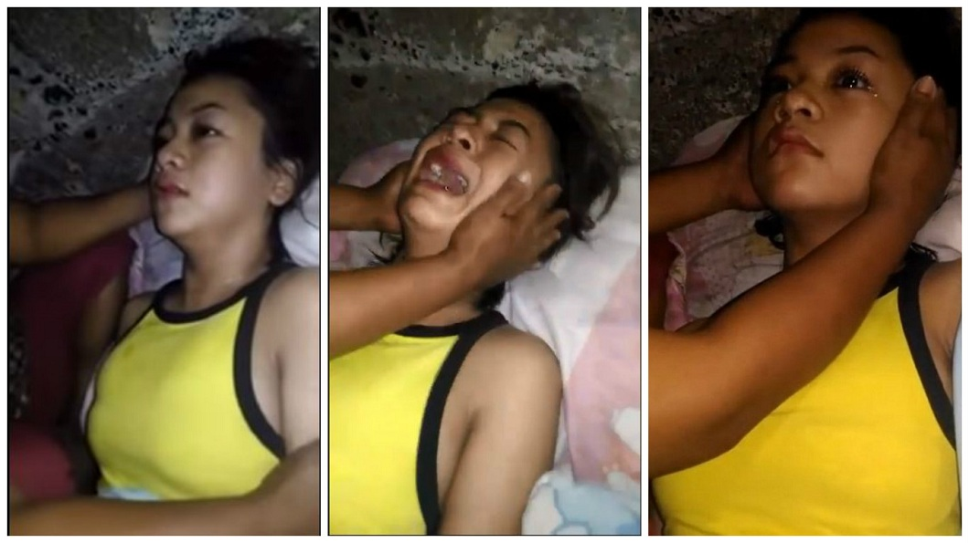 菲律賓一名16歲少女日前疑似遭到附身,突然整個人歇斯底里,還說出哥哥遇害的過程。(圖/翻攝自YouTube) 兄「附身」胞妹訴冤情 流淚泣訴:毒梟殺了我
