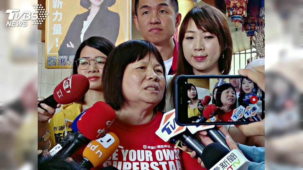 圖/中央社 親友要她快回屏東 蔣月惠先向潘孟安討「兩公文」