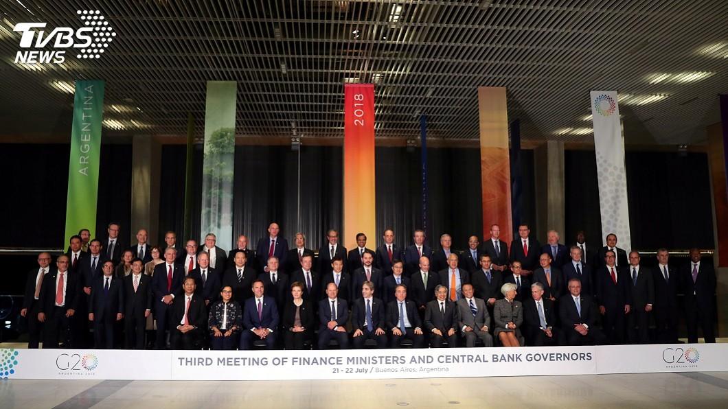 圖/達志影像路透社 G20財長會議落幕 呼籲對話化解貿易緊張情勢