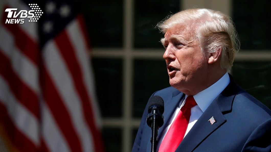 圖/達志影像路透社 指名給伊朗總統 川普重砲回嗆:絕不要威脅美國
