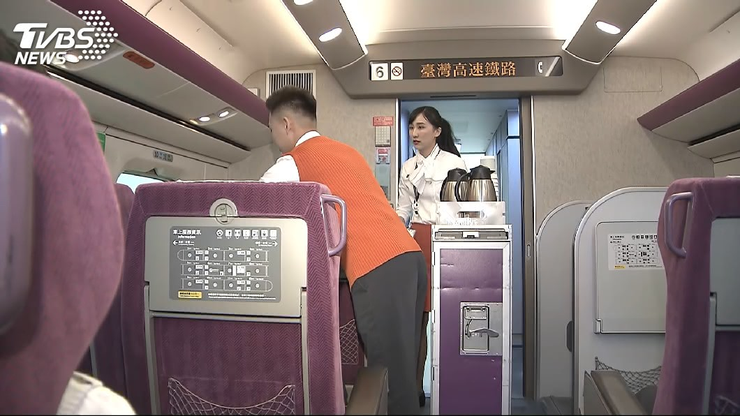 圖/TVBS 正妹帥哥多應該有挑過 高鐵員工顏值可比空姐