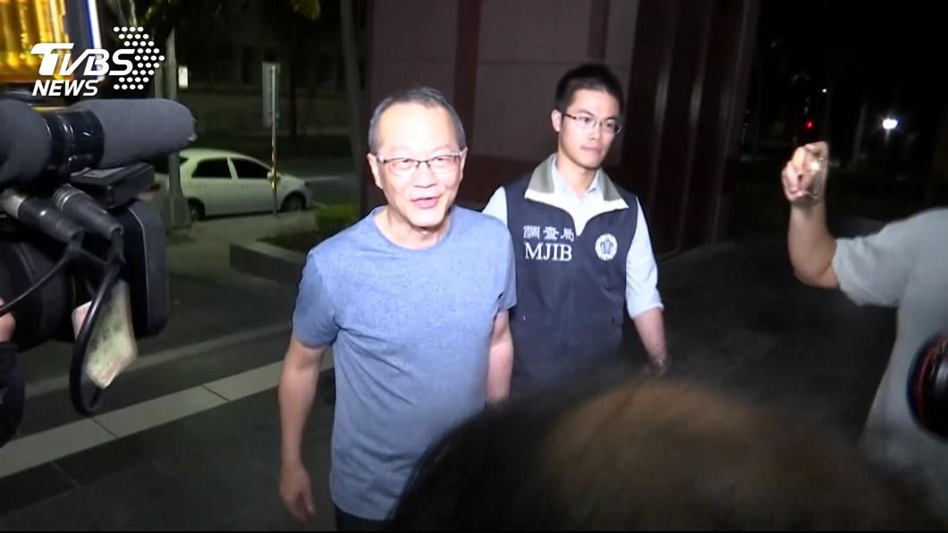 圖/TVBS 涉掏空美亞3億 董座黃春發300萬元交保