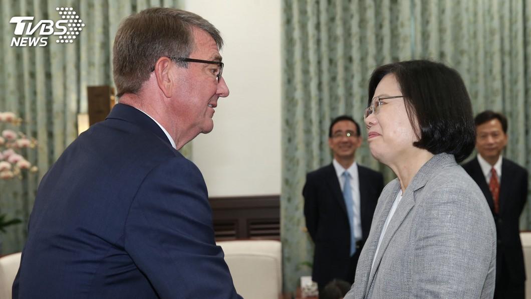 圖/中央社 蔡總統:中國打壓越大 台灣貢獻世界決心更大
