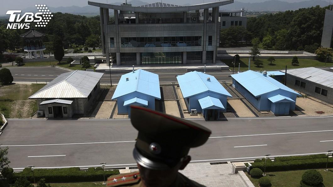 圖/達志影像美聯社 盼兩韓和平 傳南韓擬在非軍事區沿線減少駐軍