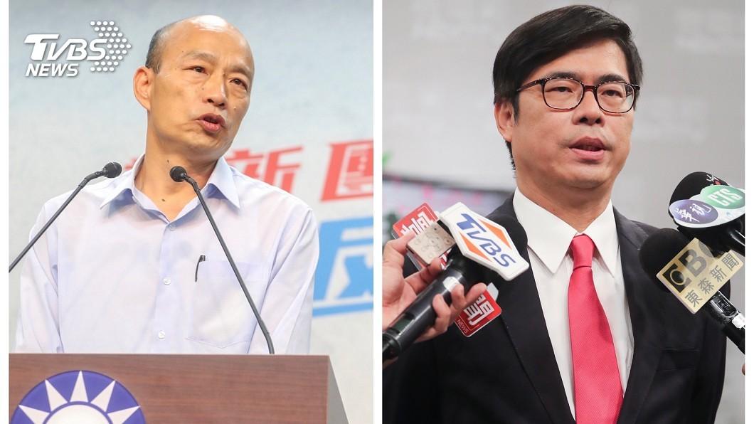 圖/TVBS TVBS民調/選情緊繃!陳其邁支持度僅領先韓國瑜8%