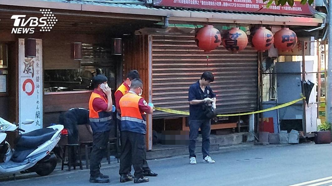 圖/TVBS 北市延吉街知名滷味店 驚傳員工店內離奇死亡