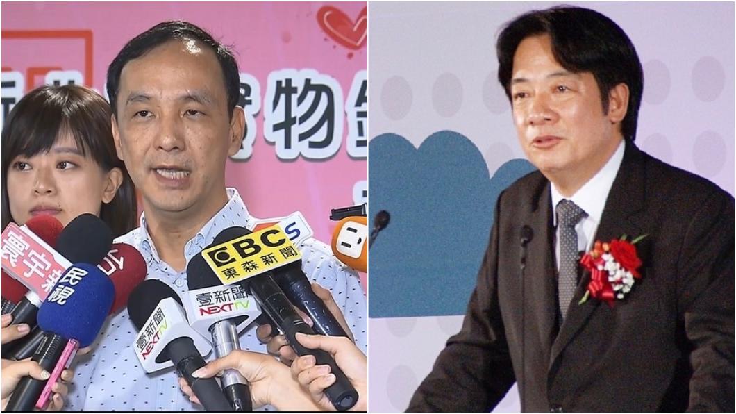 圖/TVBS 賴神說新北政績「只是小確幸」 朱立倫:台南有嗎?