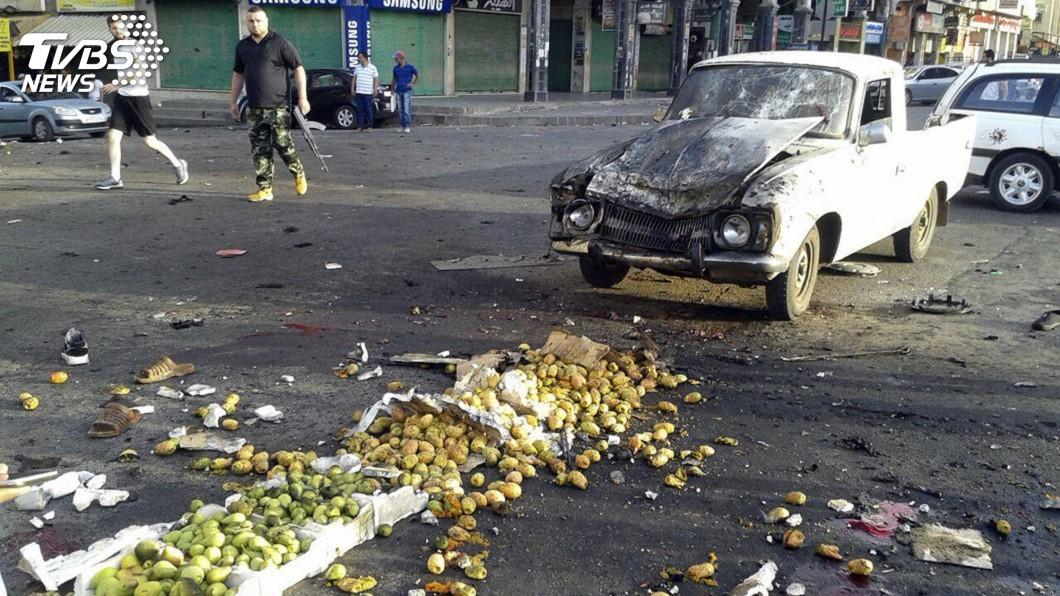 圖/達志影像美聯社 伊斯蘭國攻擊敘利亞南部 至少32死