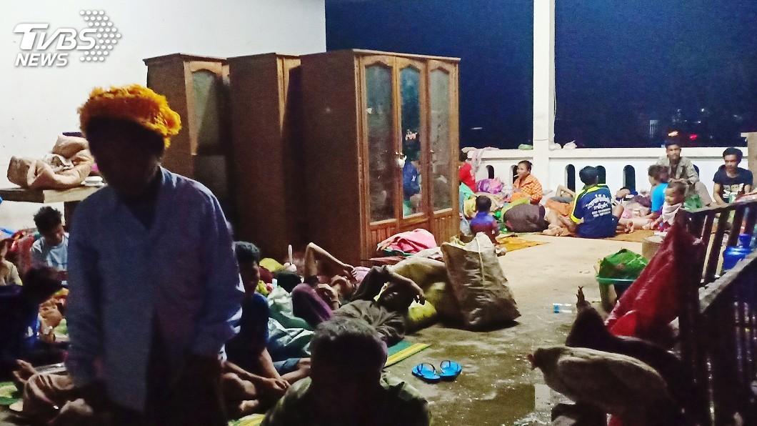 圖/達志影像路透社 寮國水壩潰堤已知19死 數百人失蹤