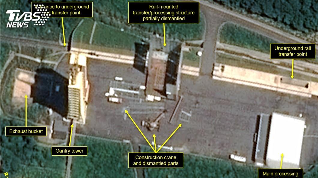 圖/達志影像美聯社 北韓拆除ICBM試驗場 向美國終戰宣言施壓
