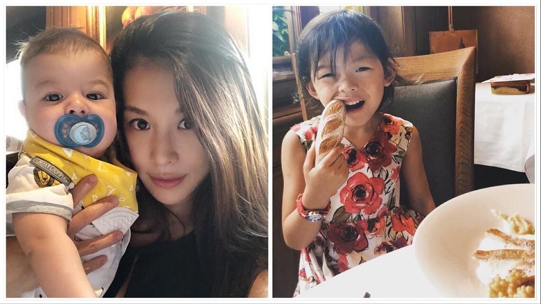 圖/翻攝自艾莉絲臉書 帶孩子到法國正式餐廳 艾莉絲「這3招」讓女兒乖乖坐好