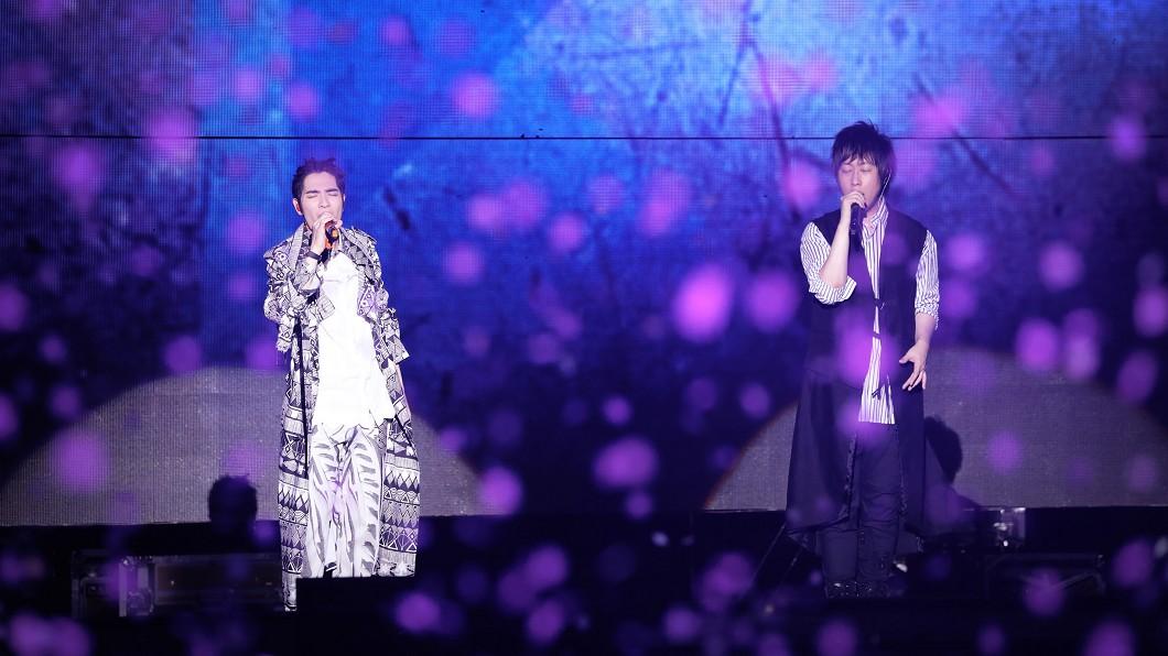 圖/相信音樂提供 五月天人生無限公司熱唱上海 蕭敬騰驚喜現身