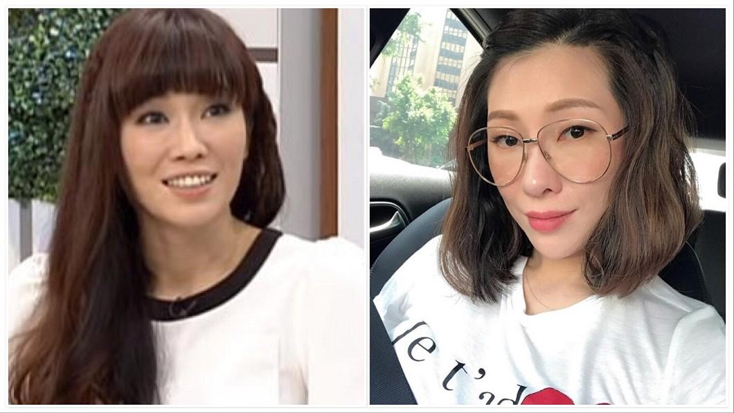 圖/翻攝自Kimiko臉書、YouTube 女星臉「神進化」完全長不一樣 被譏整壞她心酸曝真相