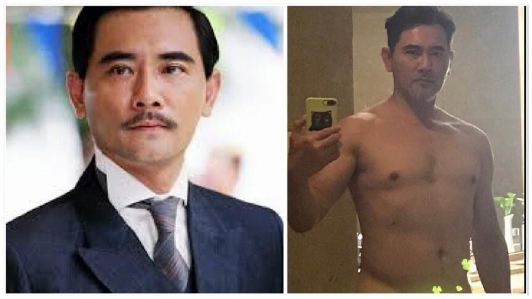 圖/翻攝自趙文瑄微博、網路 「最帥國父」曬自拍全裸照 網驚:這尺度是不是有點大