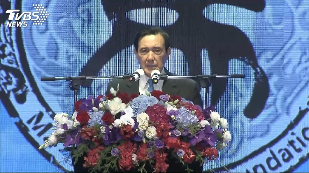 圖/TVBS 馬英九批國家方向偏 蔡英文:以為他在反省自己