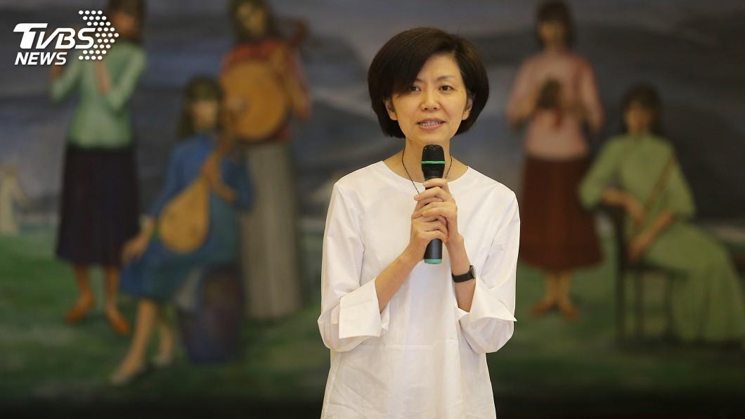 圖/中央社 劉怡汝掌兩廳院 藝術性格與智慧場館是重點