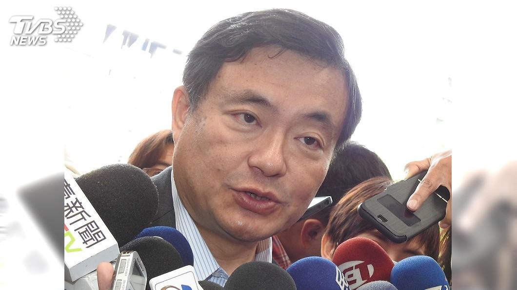 圖/中央社 台北市長選戰 洪耀福:有背水一戰決心一定選贏