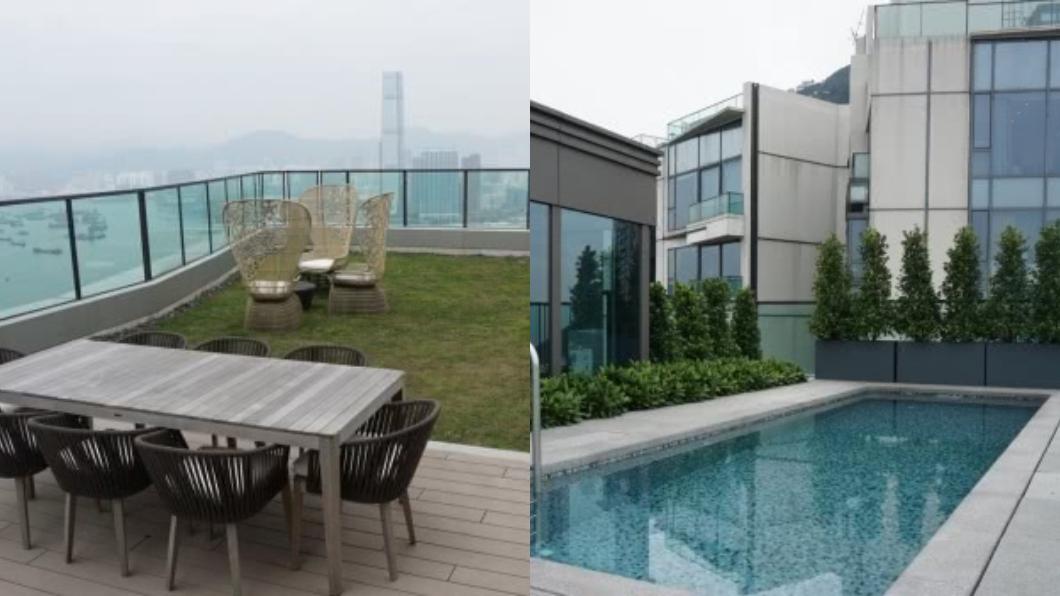 吳佩慈買的奢華豪宅。圖/翻攝自微博