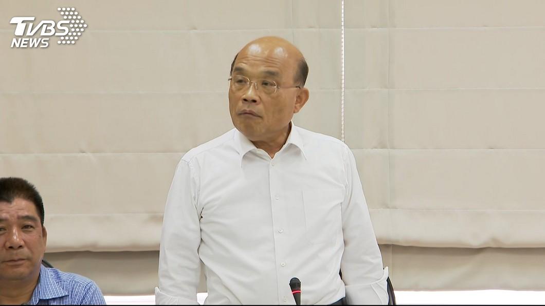 圖/TVBS 消防官員遭疑行政不中立 蘇貞昌:市府要查清楚