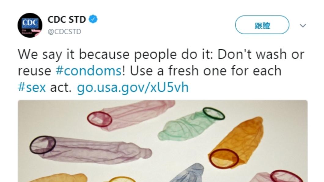 美國疾病管制局(CDC)發文警告。圖/翻攝自推特