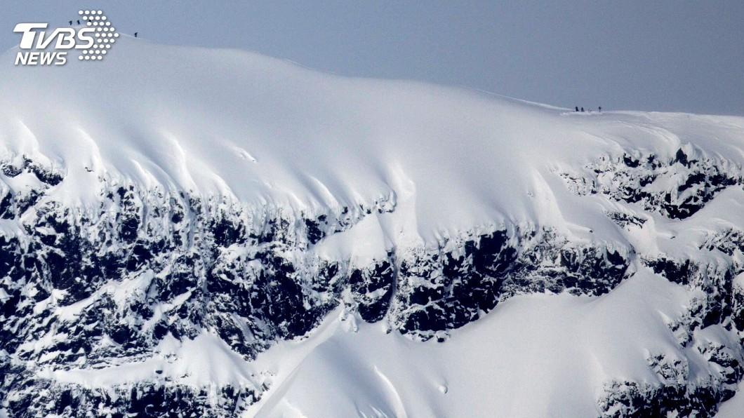 圖/達志影像路透社 北極高溫融冰 瑞典最高峰消融退位
