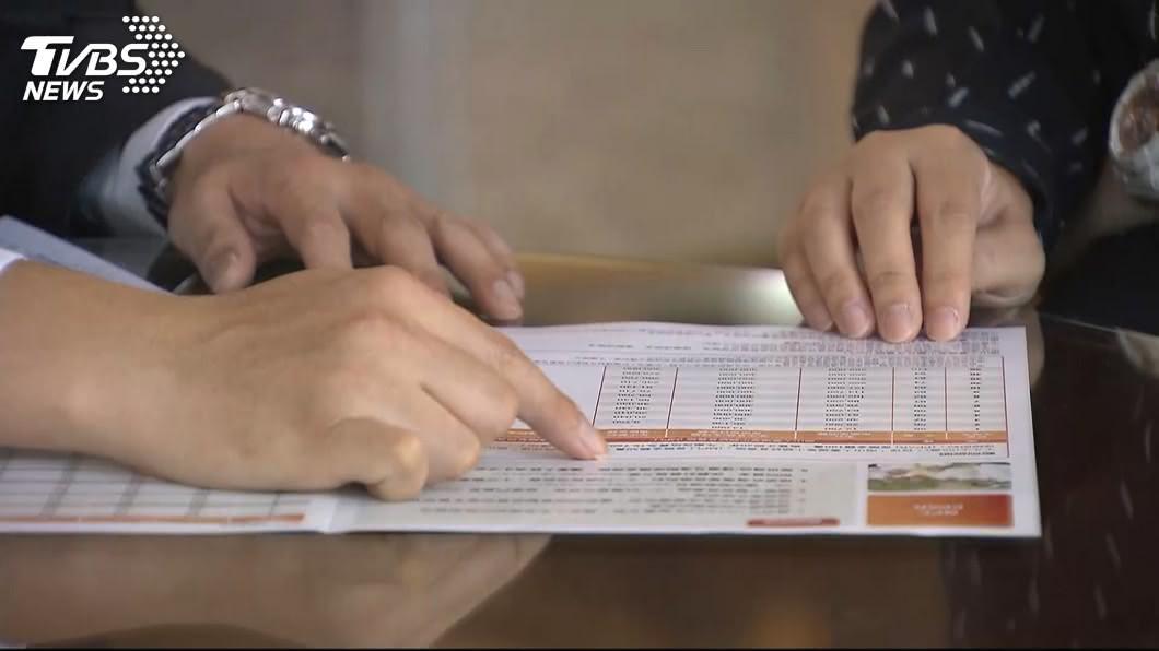 國內6家銀行保險業因客戶借錢買保單等缺失遭開罰共新台幣990萬元。(示意圖/TVBS資料畫面) 客戶借錢買保單缺失 6家銀行保險業挨罰近千萬