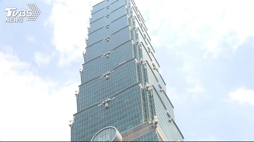 台北101啟動防疫作業。(圖/TVBS) 租戶員工曾接觸確診者 台北101:以最高標準防疫