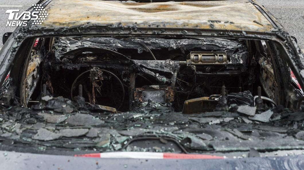圖/達志影像美聯社 寶馬汽車接連在南韓發生起火事件 當局調查