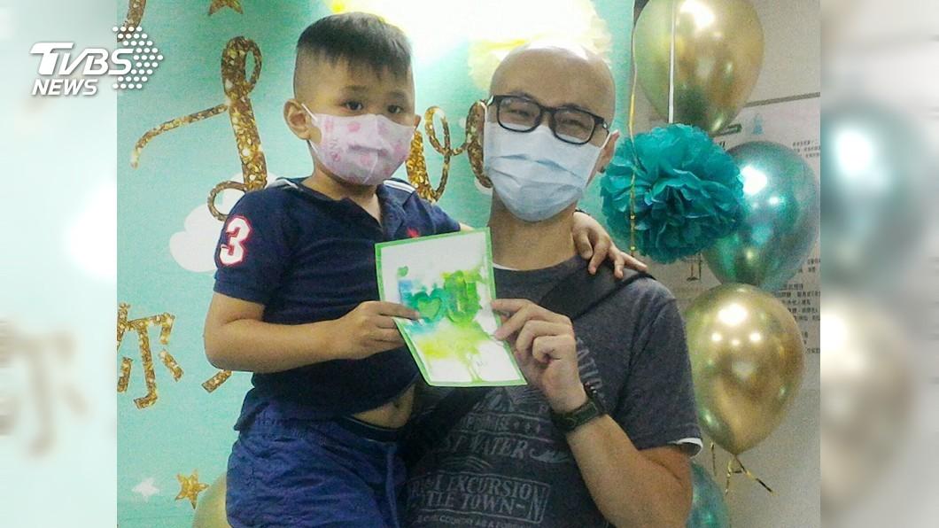圖/中央社 「我不要死」5歲男童勇敢抗癌 安慰父母:想活下去