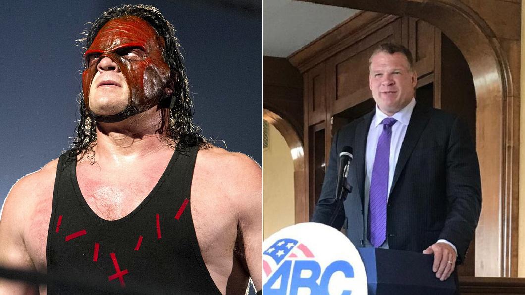 圖/翻攝自Sports Farm推特(左)、Glenn Jacobs推特(右) WWE巨星當選市長! 網友笑:一言不合就摔角