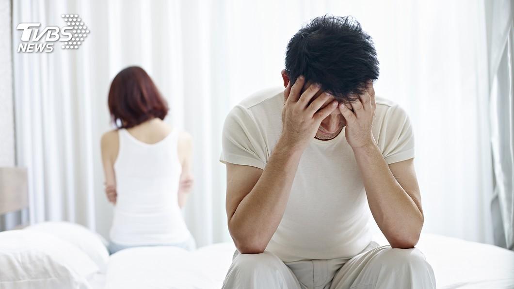 示意圖/TVBS 拒當「快槍俠」 求診男性逾半數不到40歲