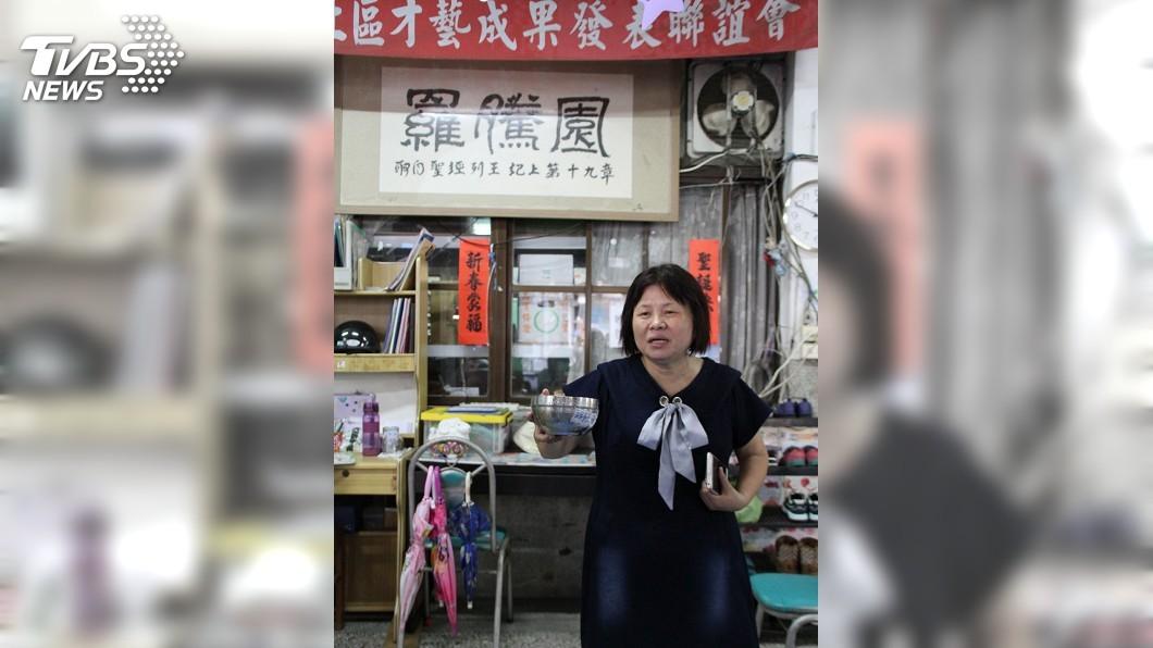 圖/中央社 與房東20年情誼斷 蔣月惠:羅騰園已找到新家
