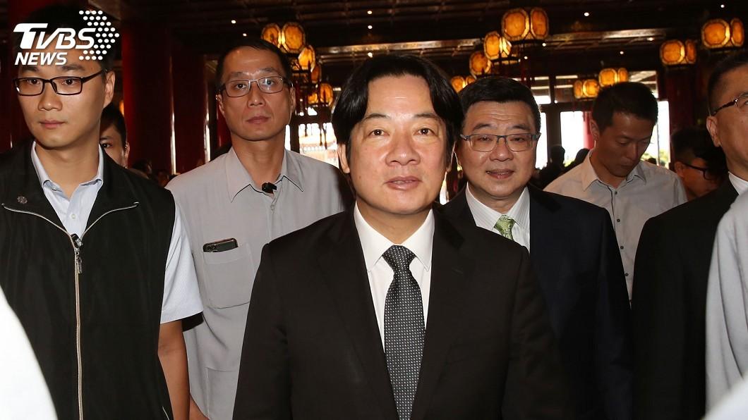 行政院長賴清德日前稱說目前台灣勞工月均薪約4.8萬元,卻被藍營打臉反批。(圖/中央社,TVBS) 稱台月均薪4.8萬 藍諷講幹話:賴清德就是最大慣老闆