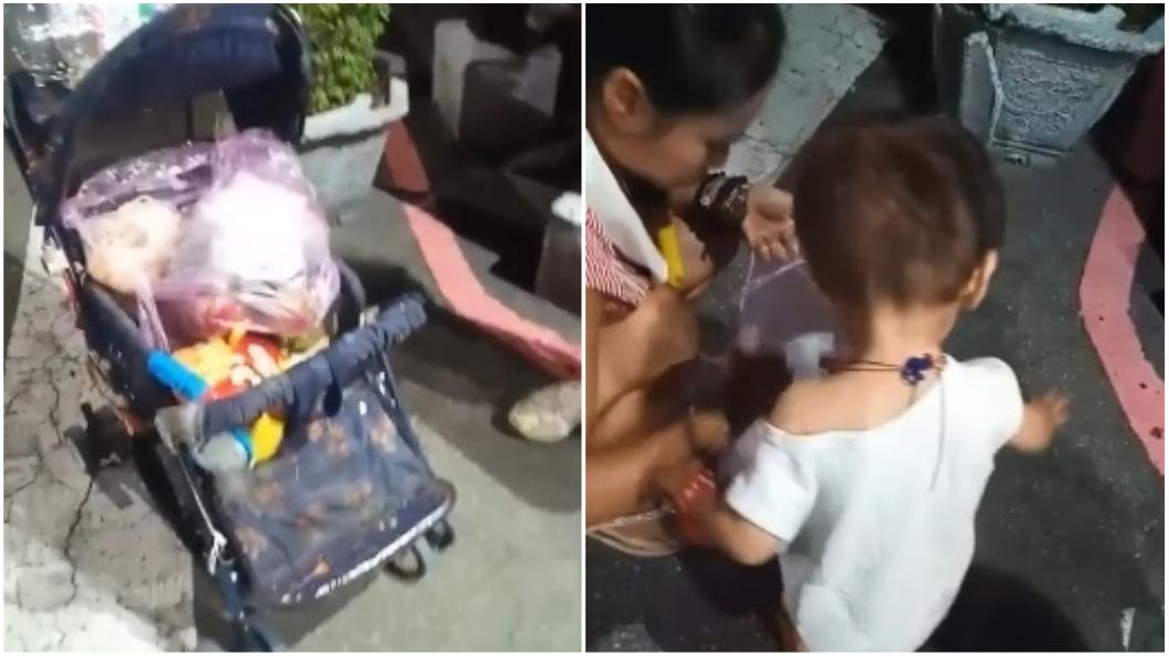圖/翻攝自臉書「彰化人大小事」 婦撿酸臭廚餘餵兒吃 鄰居嘆「已經不是第一次」