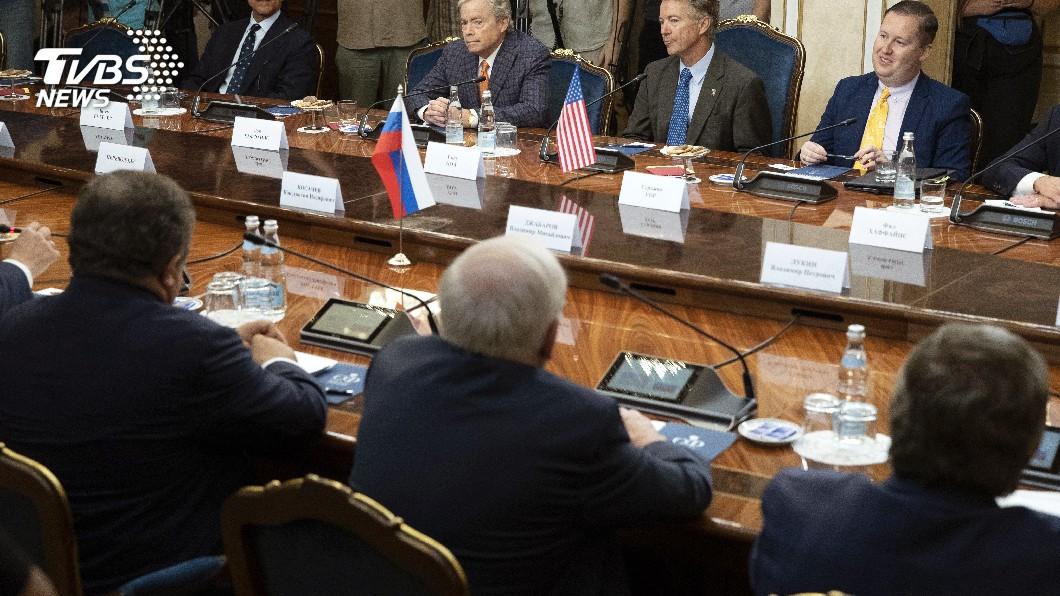 圖/達志影像美聯社 美參議員訪莫斯科 邀俄議員年底前華府見