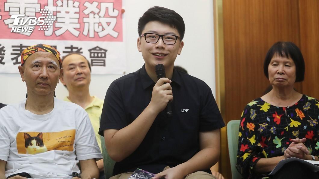 圖/中央社 力推收容所零撲殺 陸生寫書助募款