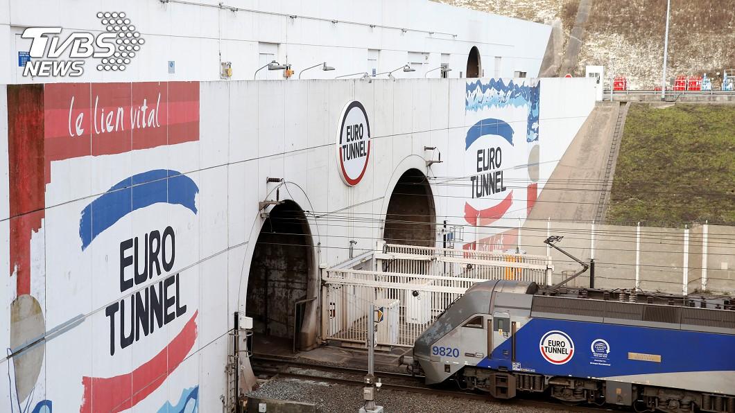 英法海底隧道入口。圖/達志影像路透社 大陸擬建通台灣海底隧道 網轟:蓋任意門還比較實際!