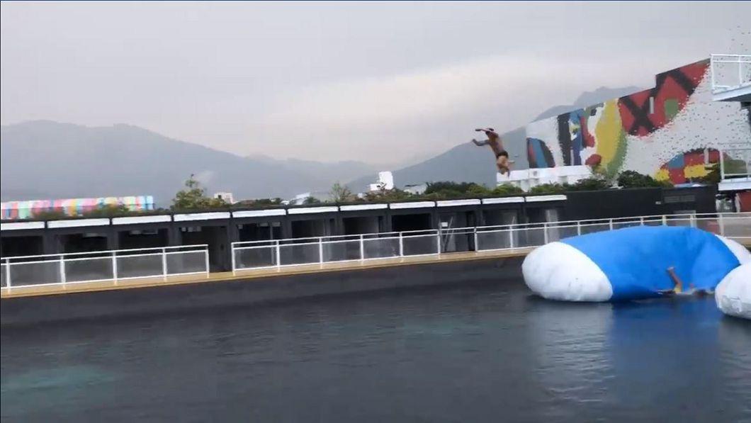 圖/翻攝自台灣水上彈跳網