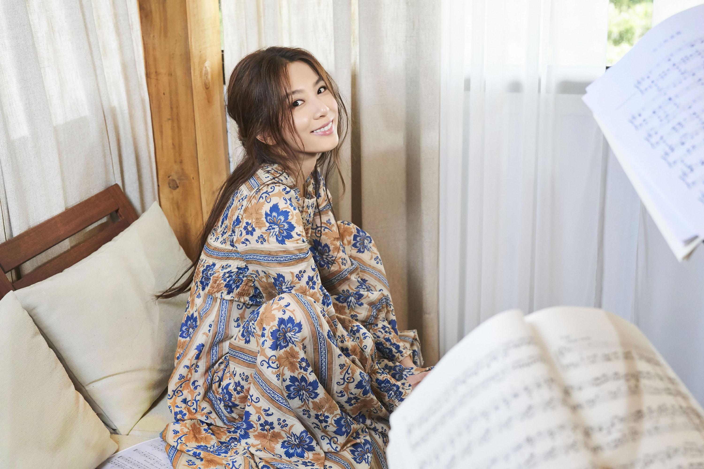 圖/中央社 田馥甄直播初體驗 百萬歌迷在線讓她眼花