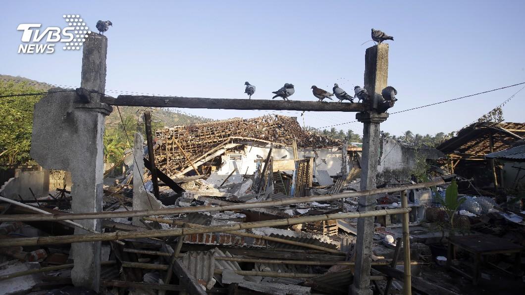 圖/達志影像美聯社 援助印尼龍目島強震 歐盟出錢、出動衛星