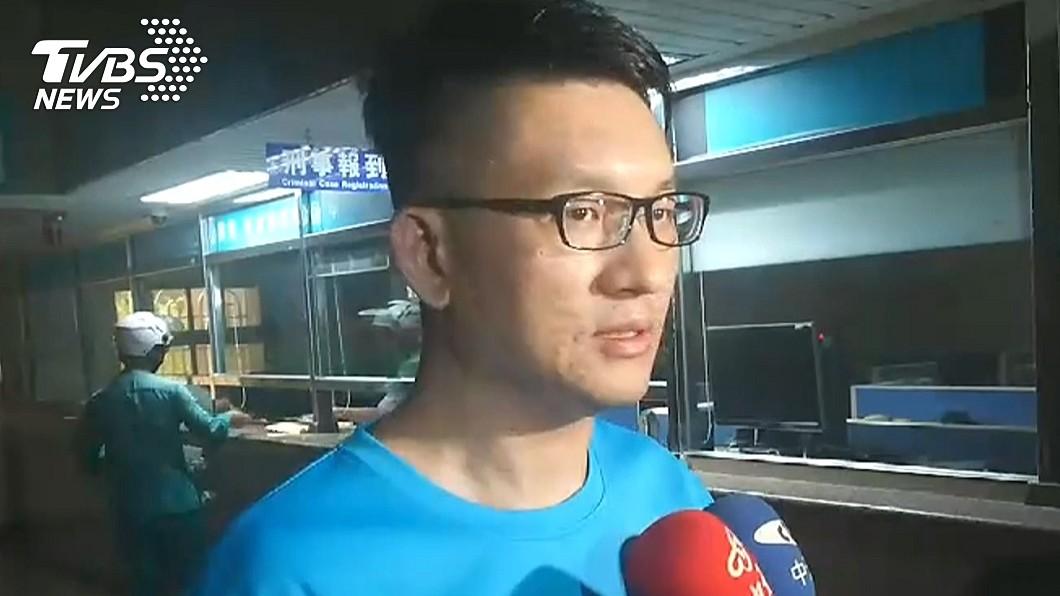 圖/TVBS 童仲彥毆妻又酒駕 葉毓蘭:這席議員注定要交出來