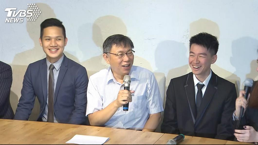 圖/TVBS 25歲海選發言人亮相 柯憂被周玉蔻幹掉