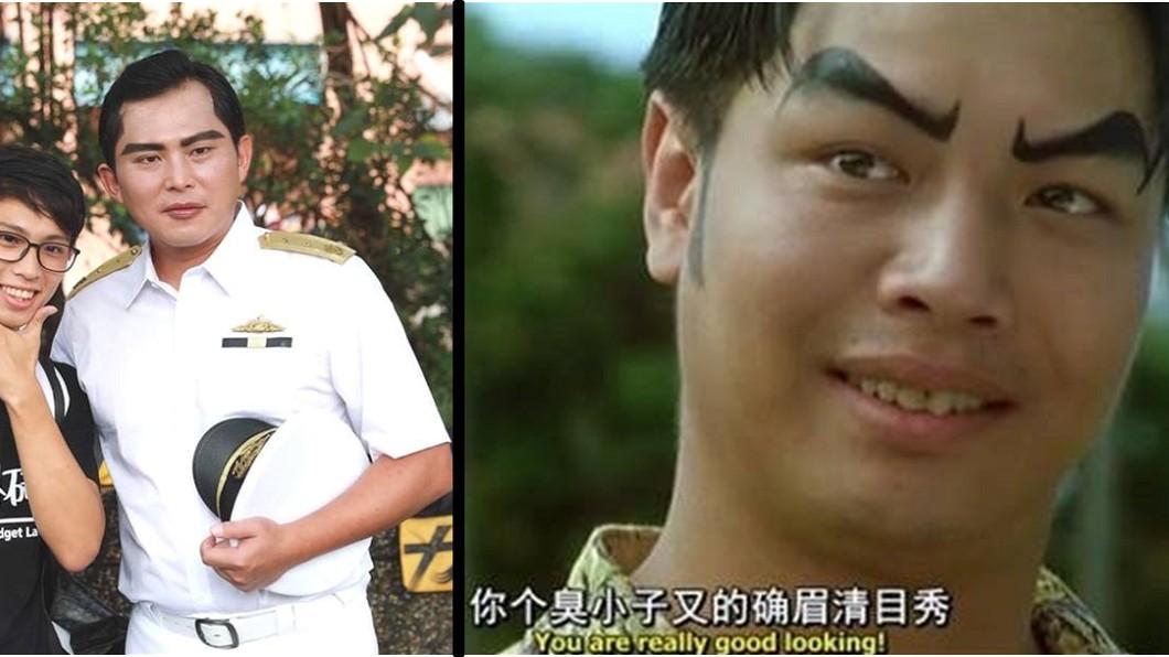 網友在黃國昌貼文下留言表示,神似電影《百變星君》的「黃小虎」。圖/翻攝臉書