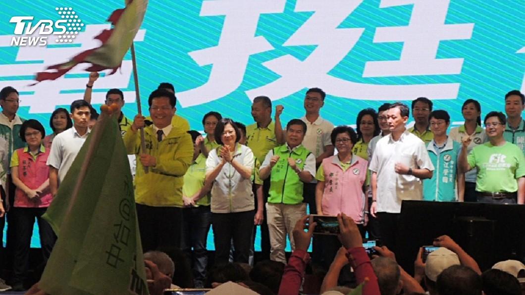 圖/中央社 綠色執政10大網路票房毒藥 第一名不是吳音寧