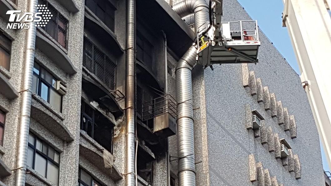圖/中央社 台北醫院大火護理師遭起訴 綠委促衛福部協助