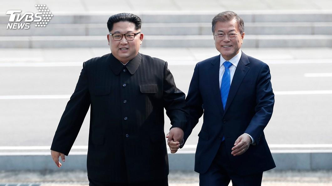 圖/達志影像美聯社 兩韓敲定第3次文金會 9月平壤舉行
